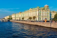 Winter Palace at Day, Saint Petersburg Royalty Free Stock Image