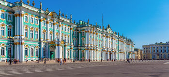 Winter Palace at Day, Saint Petersburg Stock Images