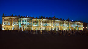 Winter Palace at Evening, Saint Petersburg Royalty Free Stock Photos