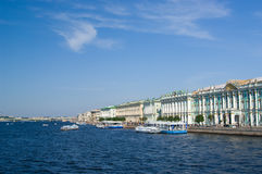 Winter palace (Hermitage) Royalty Free Stock Image