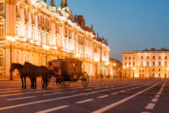 Winter palace (Hermitage) Royalty Free Stock Photography