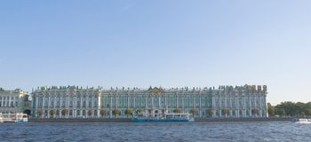 Winter Palace -  Hermitage museum Stock Image