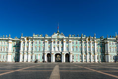 Winter Palace, Hermitage museum in Saint Petersburg Stock Photo