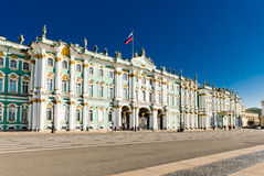 Winter Palace, Hermitage museum in Saint Petersburg, Royalty Free Stock Photos