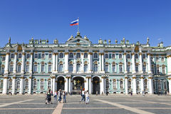 Winter Palace, Hermitage museum in Saint Petersburg, Royalty Free Stock Photo