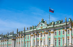 Winter Palace and Hermitage in Saint Petersburg, Russia Royalty Free Stock Image