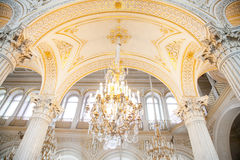 Winter Palace interior Hermitage Stock Photography