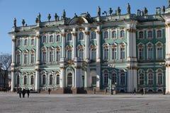 Winter Palace  Landmarks of St. Petersburg Stock Image