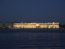 Winter Palace Lights Stock Image