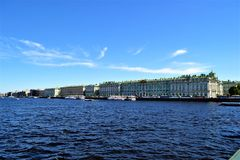 The winter Palace stock images