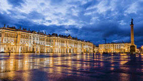 The Winter Palace on Palace Square, St. Petersburg Stock Image