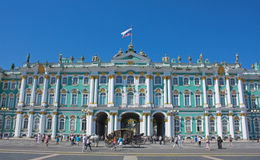 Winter Palace, Saint Petersburg. Winter Palace on Palace Square, Saint Petersburg Royalty Free Stock Images