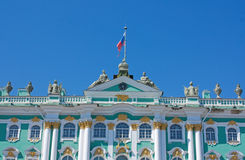 Winter Palace, Saint Petersburg. Winter Palace on Palace Square, Saint Petersburg Stock Photo