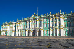 Winter Palace Saint-Petersburg building housing Hermitage museum. Stock Image