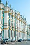 Winter Palace in Saint Petersburg Royalty Free Stock Photos