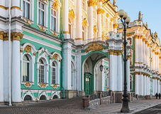 Winter Palace in Saint Petersburg Stock Photos