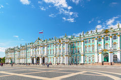 The Winter Palace in Saint Petersburg, Russia Stock Image