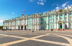 The Winter Palace in Saint Petersburg, Russia Royalty Free Stock Images