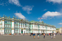 The Winter Palace in Saint Petersburg, Russia Royalty Free Stock Photos