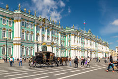 The Winter Palace in Saint Petersburg, Russia Royalty Free Stock Image