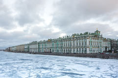 The Winter Palace in Saint Petersburg Royalty Free Stock Photo