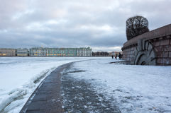 The Winter Palace in Saint Petersburg Royalty Free Stock Photography