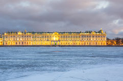 The Winter Palace in Saint Petersburg Royalty Free Stock Image