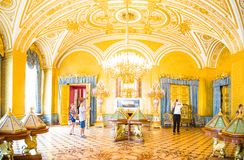 The Winter Palace,Hermitage,one of the most famous museum in the world royalty free stock photography