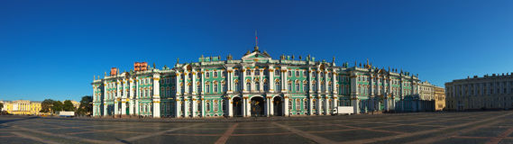 Winter Palace in Saint Petersburg Stock Photo