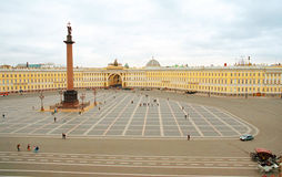 Winter Palace Square Stock Photography