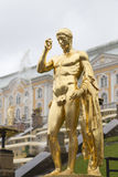 Winter palace in st peterburg Stock Photography