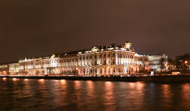 The winter palace in st petersburg Stock Photos