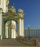 Winter palace in St. Petersburg. Russia Royalty Free Stock Image