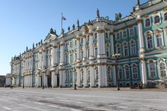 Winter Palace  in St. Petersburg Stock Photo