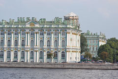 Winter Palace in St.Petersburg. Stock Photo