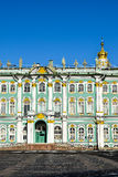 Winter Palace in St. Petersburg, Russia Stock Photography