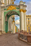 Winter Palace in St. Petersburg, Russia Royalty Free Stock Photos