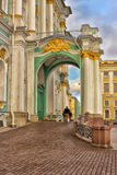 Winter Palace in St. Petersburg, Russia Stock Images