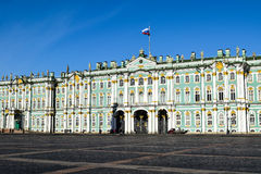 Winter Palace in St. Petersburg, Russia Royalty Free Stock Image