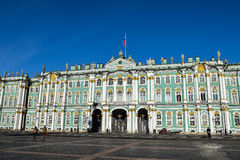 Winter Palace in St. Petersburg, Russia Stock Image