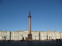 The Winter Palace in St. Petersburg Royalty Free Stock Images