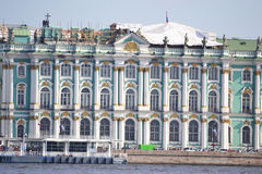 Winter Palace in St.Petersburg Stock Photos