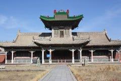 Winter palace - ulaanbaatar royalty free stock images