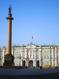 Winter Palace. View Winter Palace in Saint Petersburg, Russia Royalty Free Stock Image