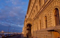 Winter-Palast, Haus des Einsiedlereitheaters stockfotografie