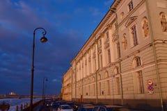 Winter-Palast, Haus des Einsiedlereitheaters stockfotos