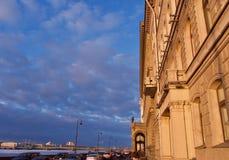 Winter-Palast, Haus des Einsiedlereitheaters lizenzfreies stockbild