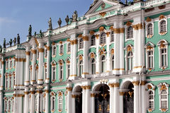Winter-Palast, Russland Stockfotografie