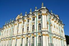 Winter-Palast, St Petersburg Stockfoto