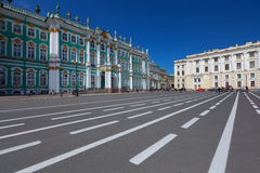 Winter-Palast in St Petersburg Stockfoto